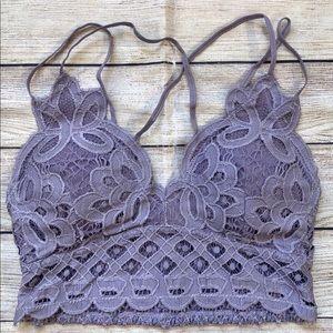 Other - Misty Bralette Ash Purple